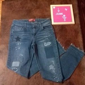 Arizona patch jeans